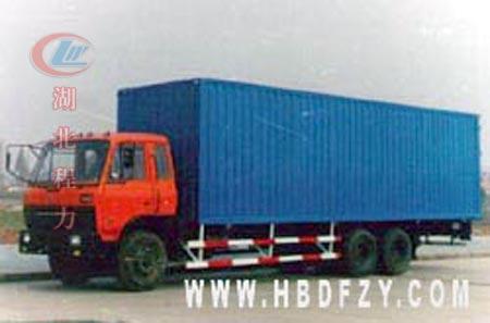 东风1208双桥厢式货车 高清图片