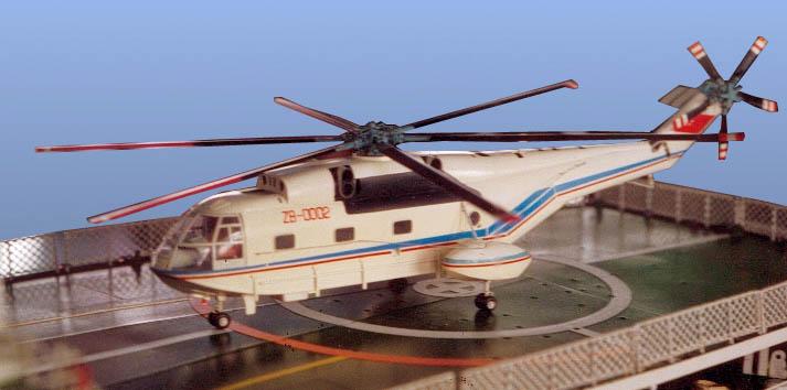 最大的玩具直升机
