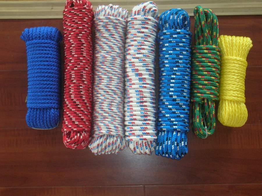 塑料丝线手工编织