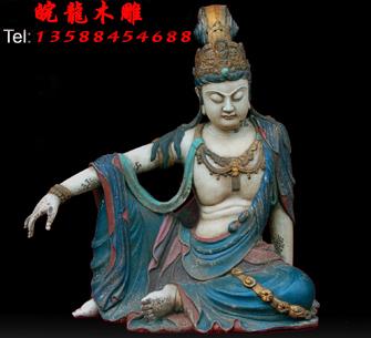 杭州余杭区皖龙木雕佛像厂