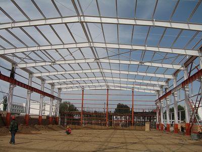 彩钢板活动房,膜结构,网架,钢结构玻璃雨棚,钢结构屋架,钢结构展厅,钢